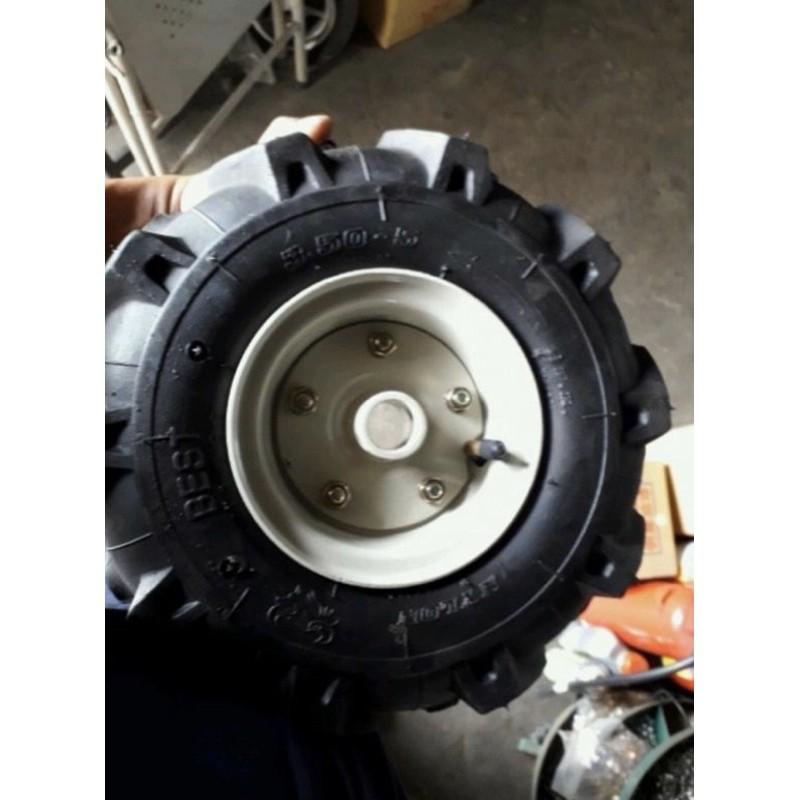 3.50-5 中耕機用 輪胎    軸心25mm  展農  文豐  大順 啟發牌