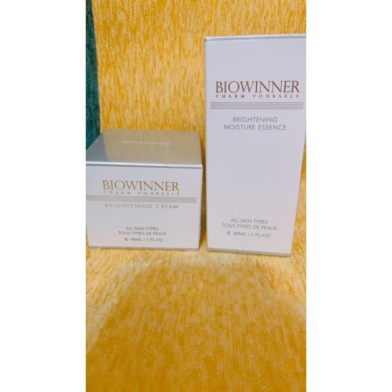 biowinner淨白保濕精華素+透亮霜