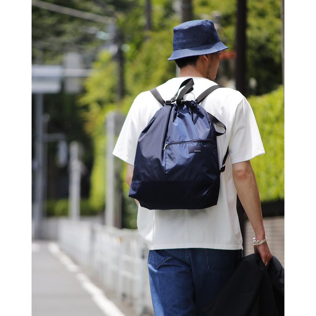 {XENO} 全新正品 nanamica 2way Shoulder Bag 兩用包 手提包 束口 後背包