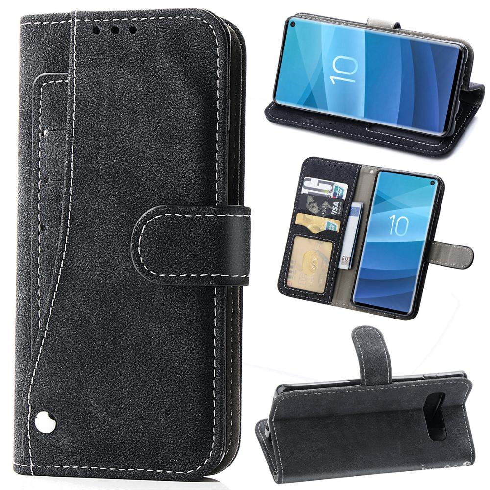 Flip Cover Wallet Leather Phone Case For Samsung Galaxy A50