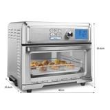 台灣公司貨附保卡Cuisinart 數位式氣炸烤箱 (TOA-65PCTW)氣炸鍋好市多