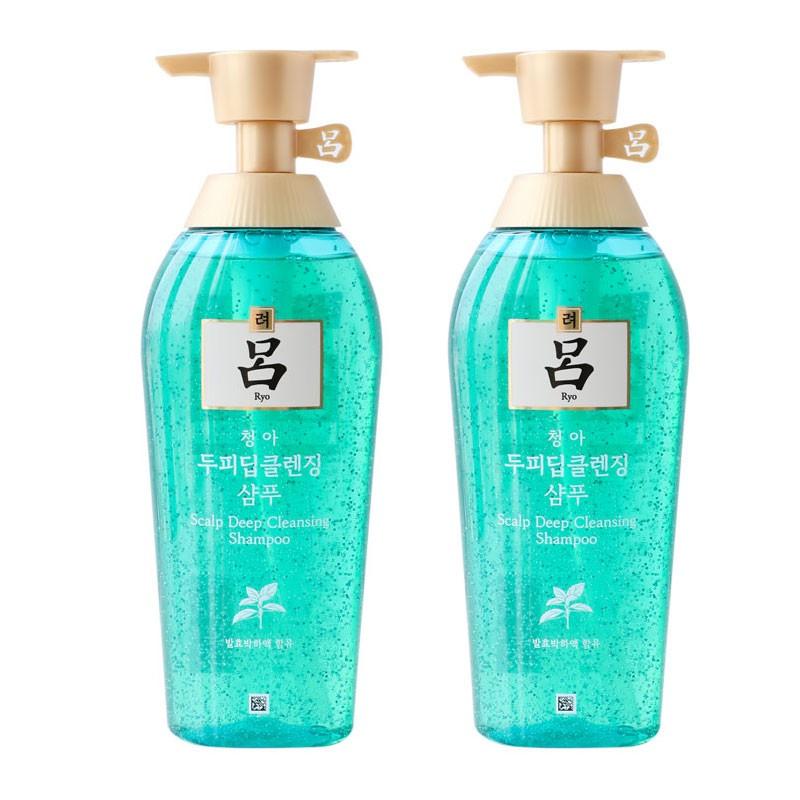 韓國 Ryoe 呂 頭皮養護洗髮精 綠瓶 500ml 清爽控油
