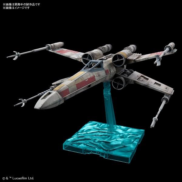 【BANDAI】組裝模型 1/72 星際大戰 X翼星式戰機 紅色五號 現貨