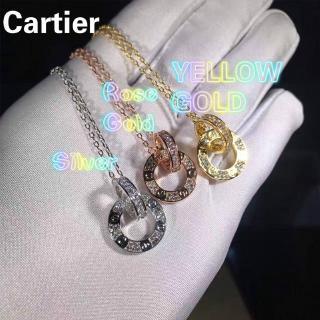 卡地亞(Cartier)愛項鍊,未鑲鑽石的盒子