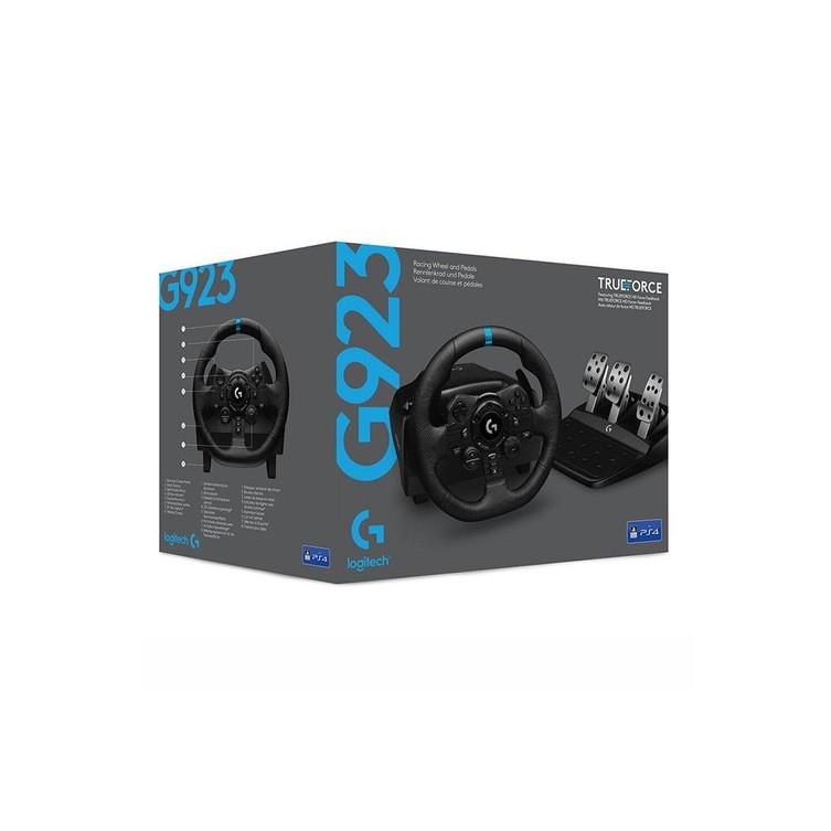 羅技G923 TrueForce Sim Racing Wheel 力回饋賽車方向盤 PS4配置 支援PS5【魔力電玩】