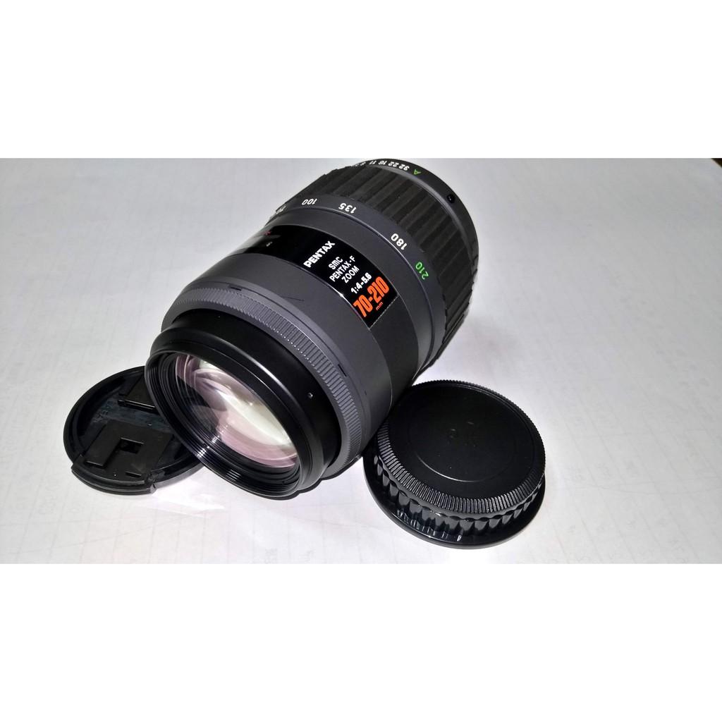 SMC Pentax- F 70-210mm F4-5.6(紅標隱星鏡)