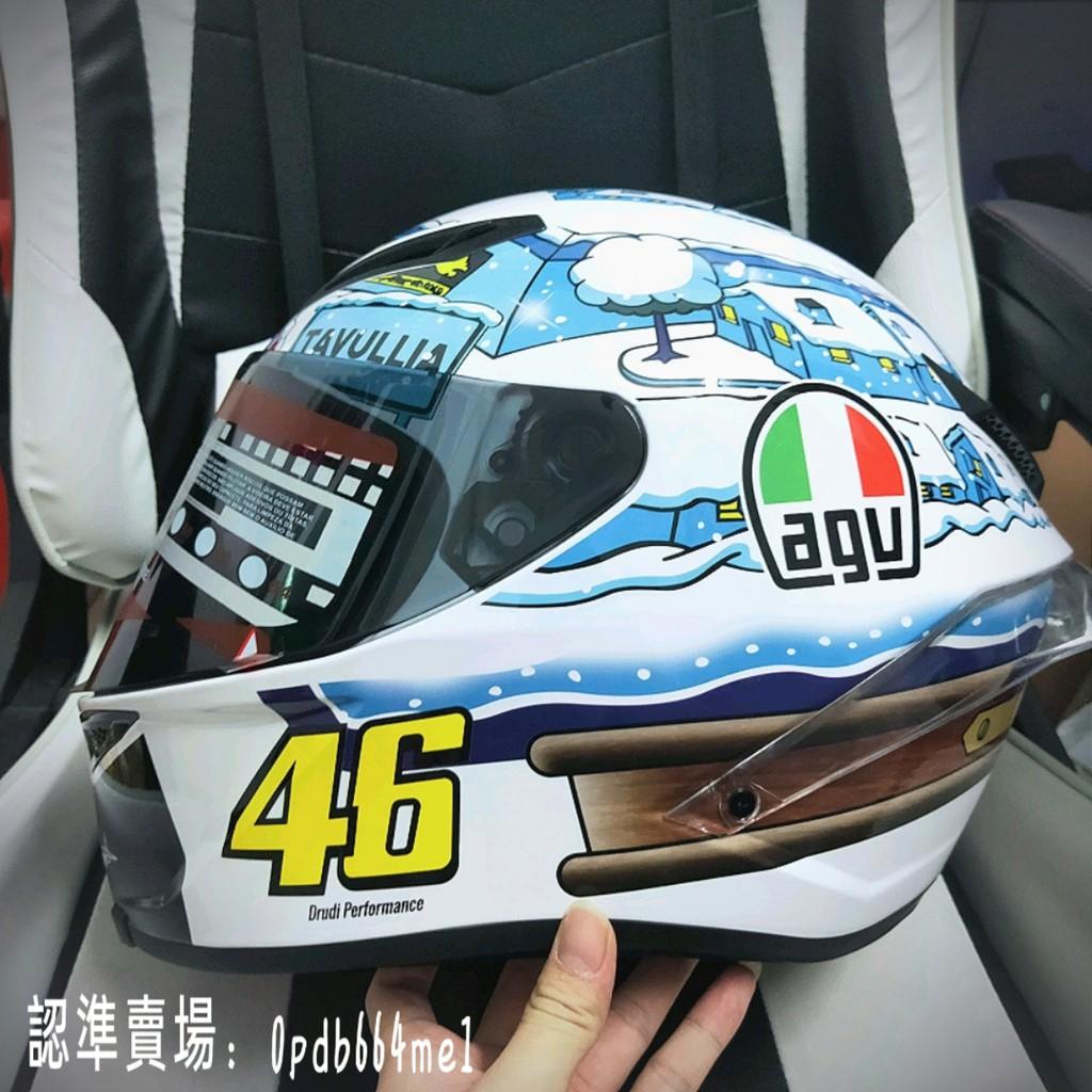 義大利亞洲版 AGV PISTA GP R 羅西雪邦東測 雪屋頭盔 羅西限量雪村雪屋碳纖維 機車帽 全罩安全帽