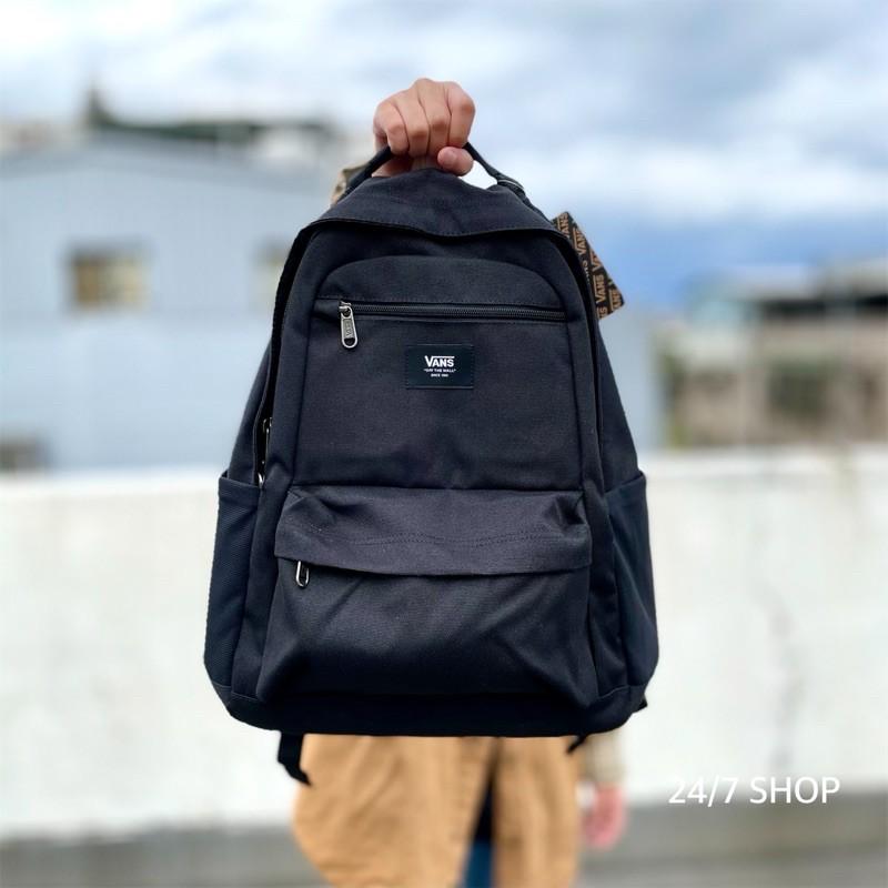 【24/7 SHOP】現貨 美國 特價 Vans Startle 後背包 黑色 水壺袋 筆電包 雙肩包 大學包 書包