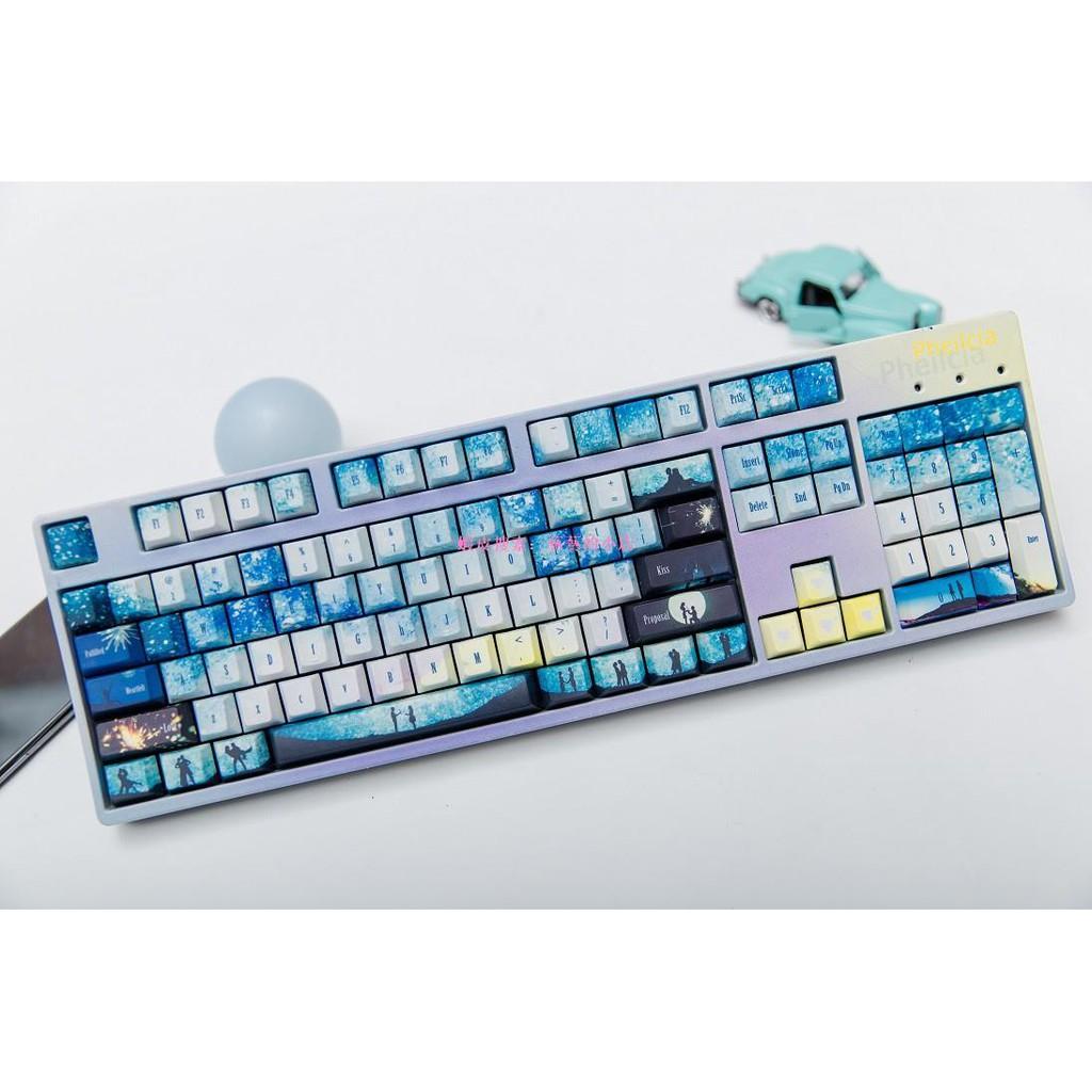 【情人節鍵帽A款】機械鍵盤熱升華pbt鍵帽不是鍵盤不是鍵盤不是鍵盤【藝藝的小店 】