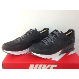 NIKE WMNS AIR MAX 90 ULTRA ESSENTIAL 經典 黑白 輕軟 724981-007