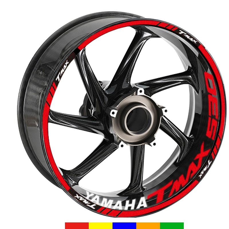 【跳跳糖】Yamaha 雅马哈 TMAX 530 17吋輪框款式 輪框貼 彩貼 輪胎貼 反光輪框貼紙