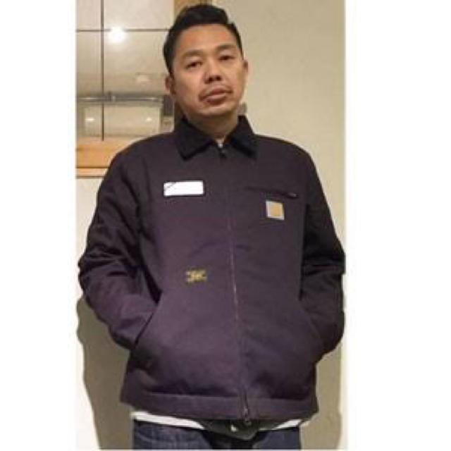 WTAPS 15AW Carhartt DETROIT JACKET 貼布 標語 金標 夾克