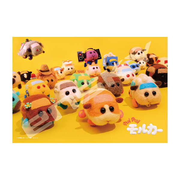 日本進口 Ensky 益智桌遊 天竺鼠車車 拼圖 108片【酷比樂】