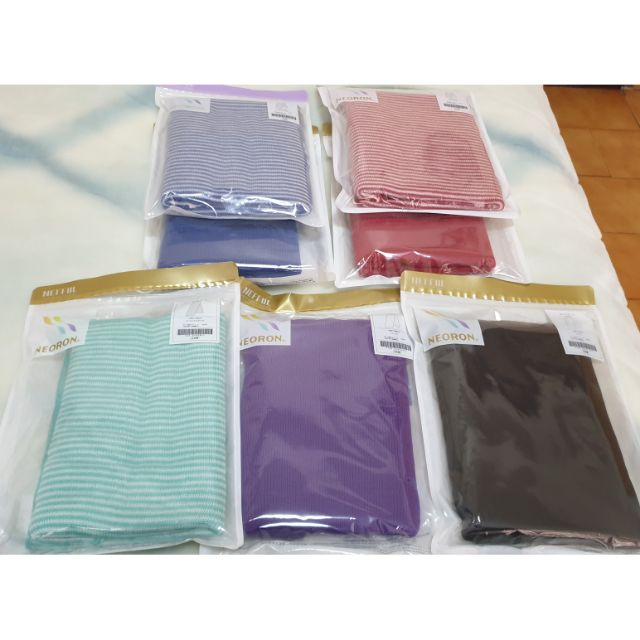 妮芙露風采圍巾,條紋圍巾