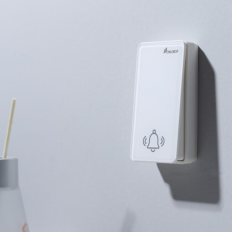 【現貨】無線門鈴WiFi版 自發電 遠距離電子 不用電池一拖一 來客門鈴 防盜器 來客報知 防盜門鈴
