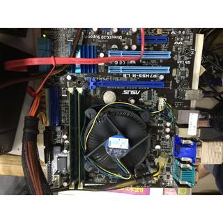 華碩P7H55-M LE/ 1156主機板+4G記憶體 I3-540/ 3.07GHZ面交基隆 基隆市