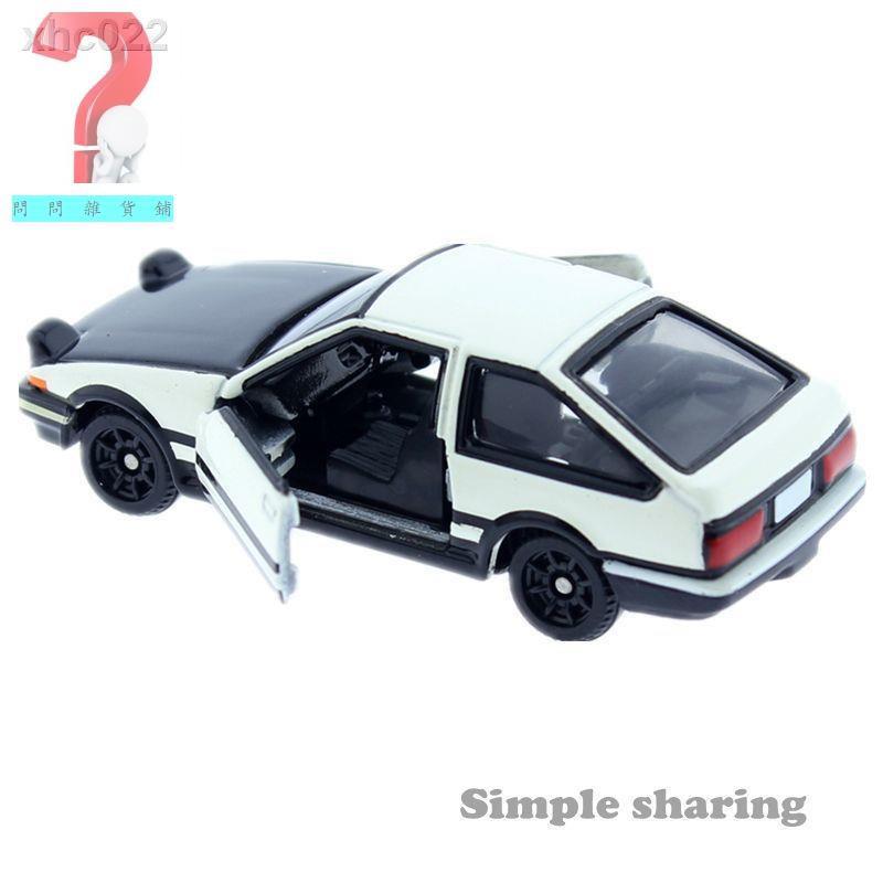 ⚡速發⚡✜TOMY多美卡合金車模型TOMICA145號豐田AE86頭文字D藤原拓海賽車【5月4日發完】
