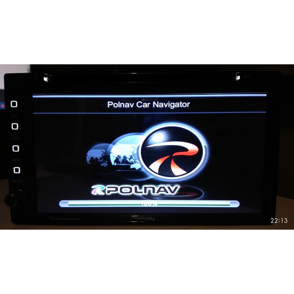北宸Polnav圖資費用800元更新地圖導航NAVI北承北成北辰北晨Carmax車美仕Toyota車美式Polstar
