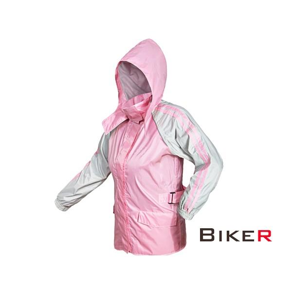 【KT BIKER】女版 兩件式雨衣 (全新設計) 騎士雨衣 腰身調整 兩截式 摩托 雨衣〔MCG010〕