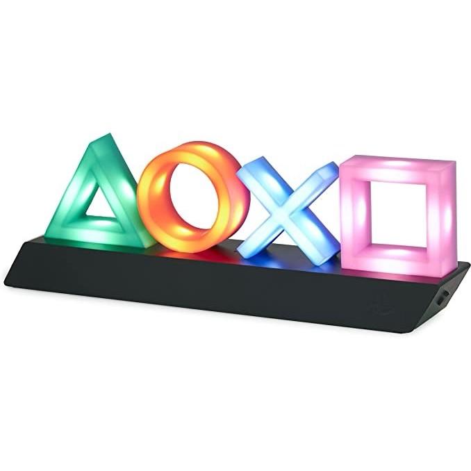 官方授權!Paladone Playstation 圖標燈 3 種燈光模式 夜燈