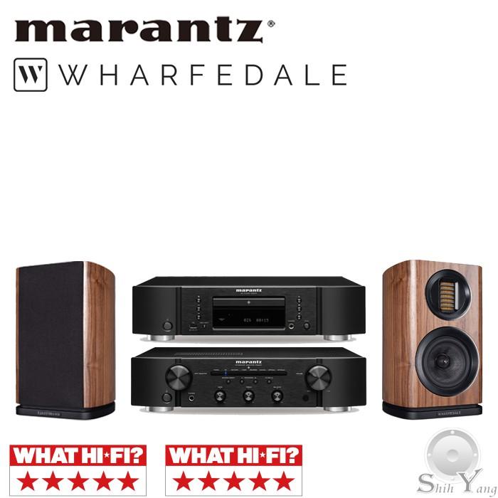 Marantz CD6007 CD播放機+ PM6007 綜合擴大機 + Wharfedale EVO 4.1 書架喇叭