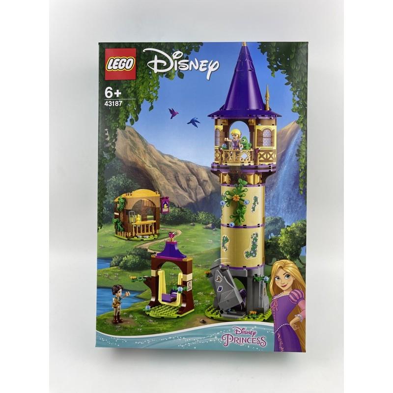 全新樂高  Disney 43187 樂佩公主的高塔