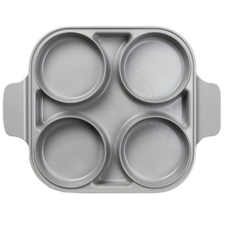 限時24hr出貨🚗Neoflam 雙耳四格多功能煎鍋含蓋 28 公分