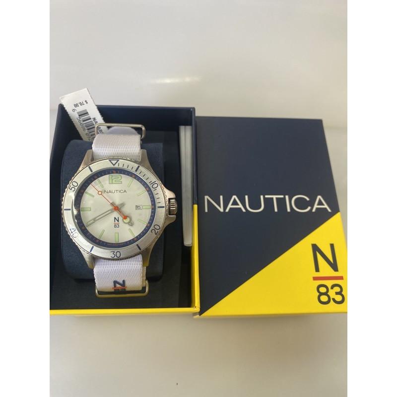 全新 正品Nautica 娜蒂卡 手錶