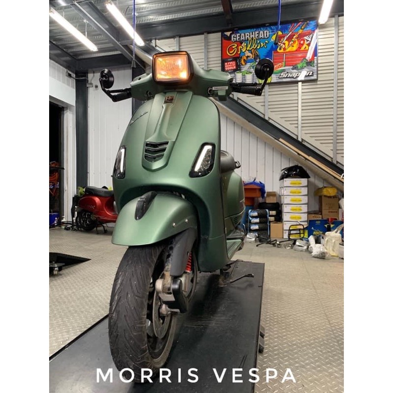 [ Morris Vespa ] LX S 導光 燈條 LED 方向燈 timing_scooter  限量供應