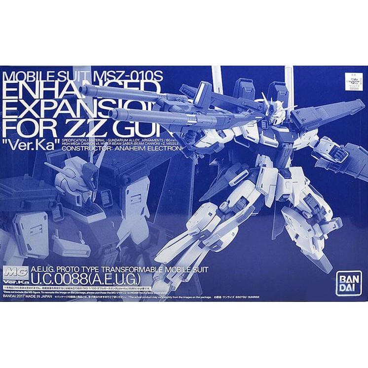 現貨 全新 萬代 BANDAI MG 1/100 PB魂商限定 強化型ZZ鋼彈 Ver.Ka 卡版 配件包