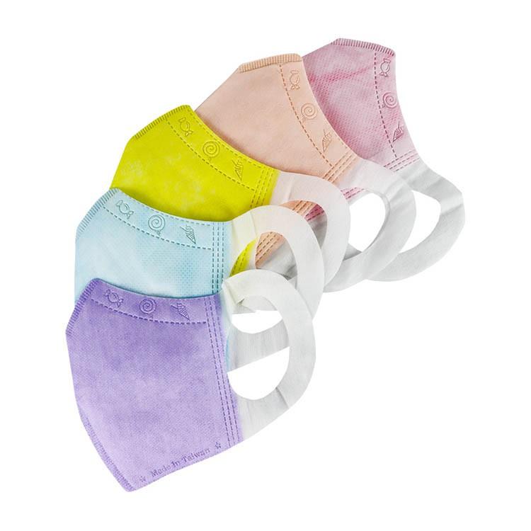 台灣製造 口罩國家隊 鋼印醫療級兒童立體彩色口罩 多色可選