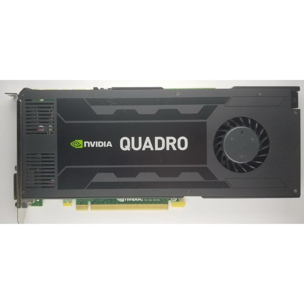 【全網含運最低價】NVIDIA Quadro K4200 GDDR5 4GB_PCIe2.1 單插槽攻頂 三屏專業圖卡