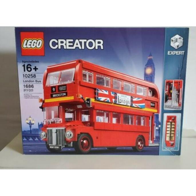 LEGO 樂高 10258 創意系列 英國倫敦巴  松山取貨享折扣