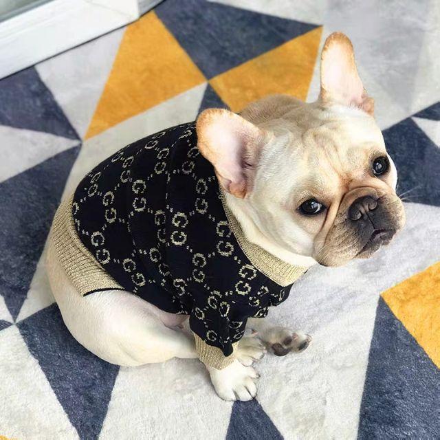 寵物衣服 Gucci風格毛衣