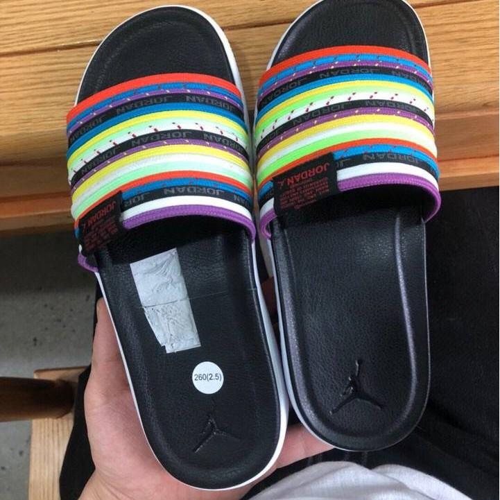 NIKE JORDAN MODERO 2 SLIDE VP 彩色 拖鞋 CU2708-901