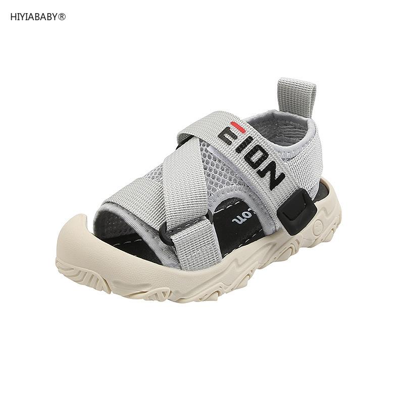 男童涼鞋 新款夏季透氣鏤空女童軟底1-3歲小孩鞋子