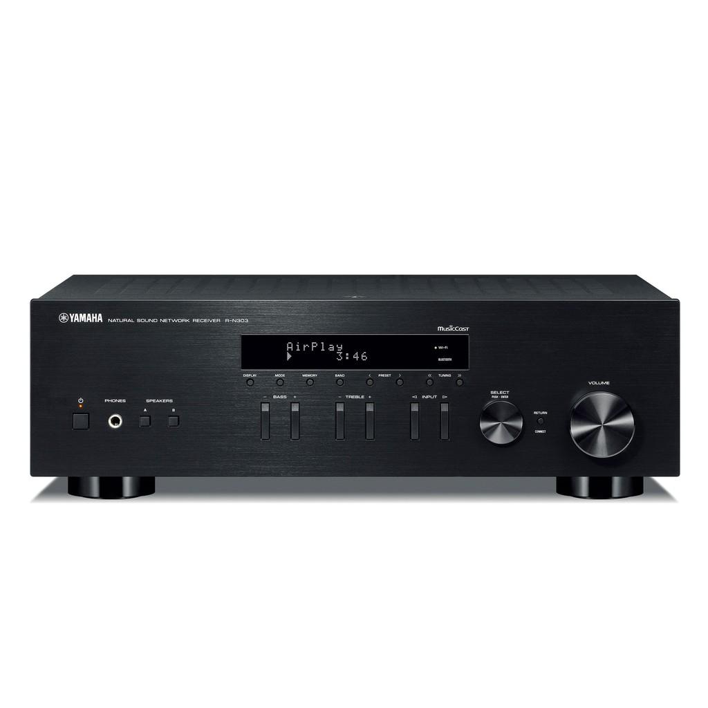 ◤桃園 / 凱巨音響◢ 日本 Yamaha R-N303 綜合擴大機 兩聲道 數位流