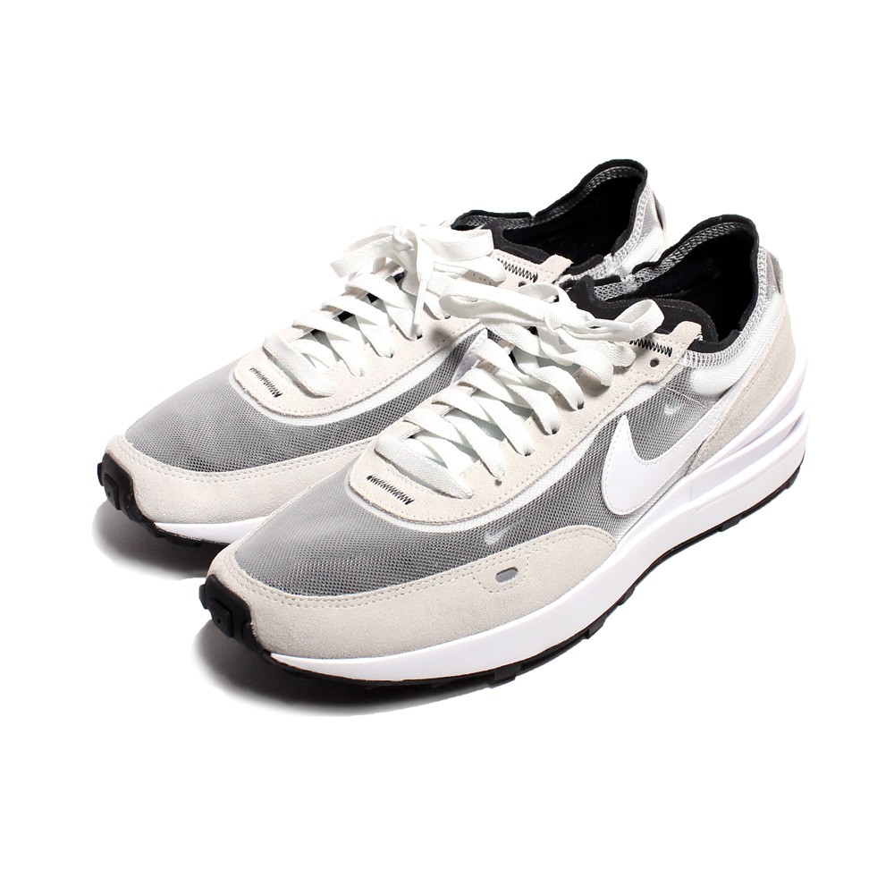 NIKE 男 WAFFLE ONE 灰白 小SACAI 經典復古鞋-DA7995100 廠商直送