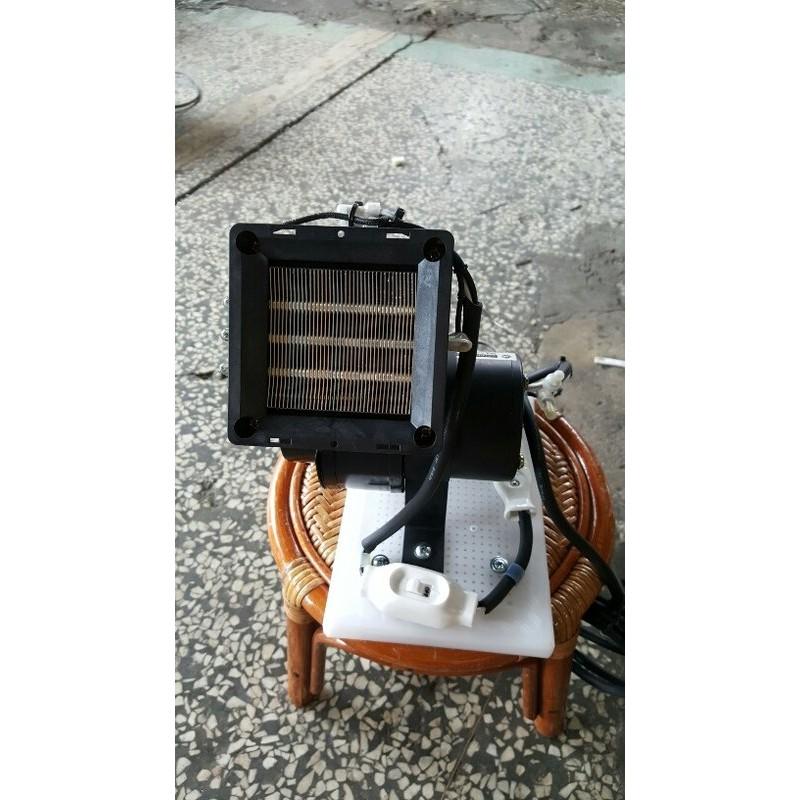 [多元化風扇風鼓]天冷必備手提式PTC陶瓷熱風機 電暖器 冷熱兩用型 可上下調整吹角 體積小 600w 風程遠~室內室外
