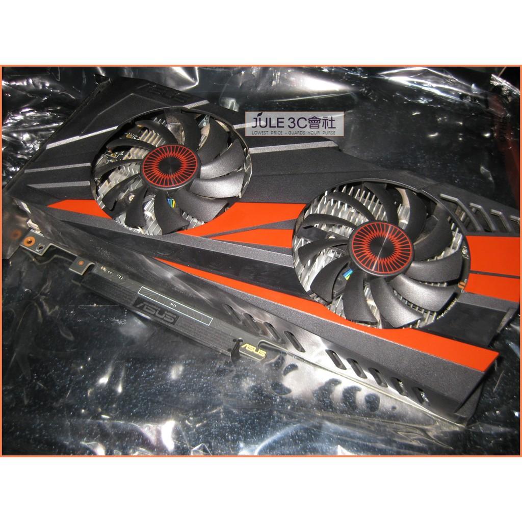 JULE 3C會社-華碩ASUS GTX960-DC2OC-2GD5 GTX960/合金電源/良品/PCIE 顯示卡