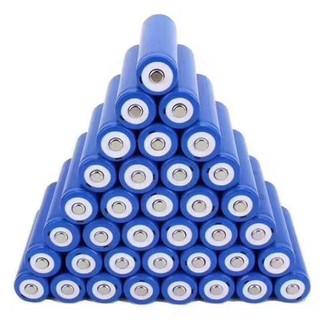 工廠直銷18650鋰電池3.7V可充電 尖頭 平頭 強光手電筒 頭燈 鋰電池