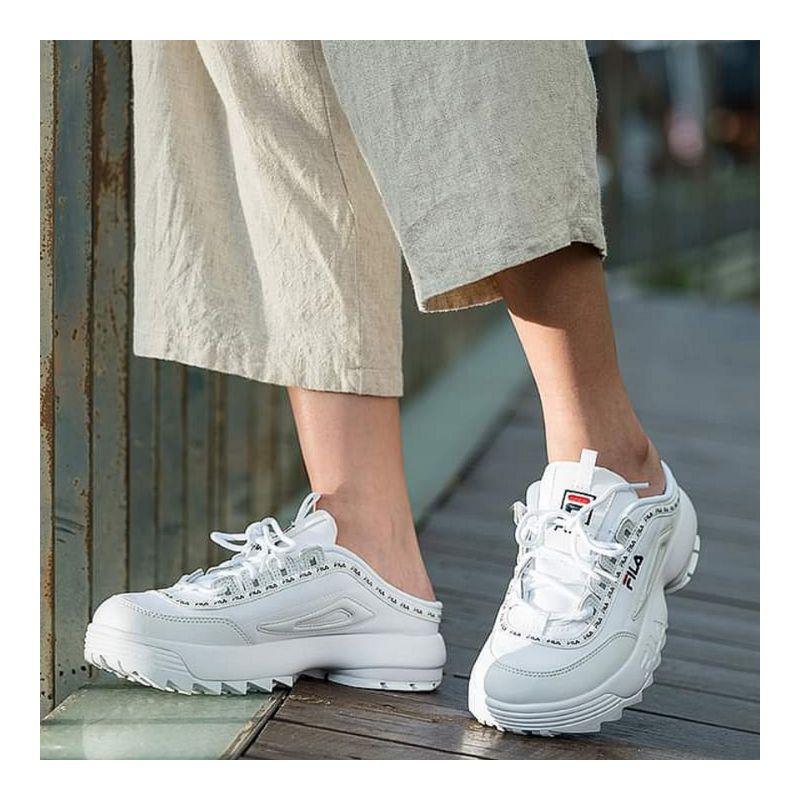 【BKS】FILA DISRUPTOR  2 Mule Tapey Tape/穆勒鞋/懶人鞋/鋸齒鞋/老爺鞋