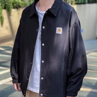 【免運】Carhartt卡哈特教練風衣外套黃黑灰三色百搭男女同款 高雄市