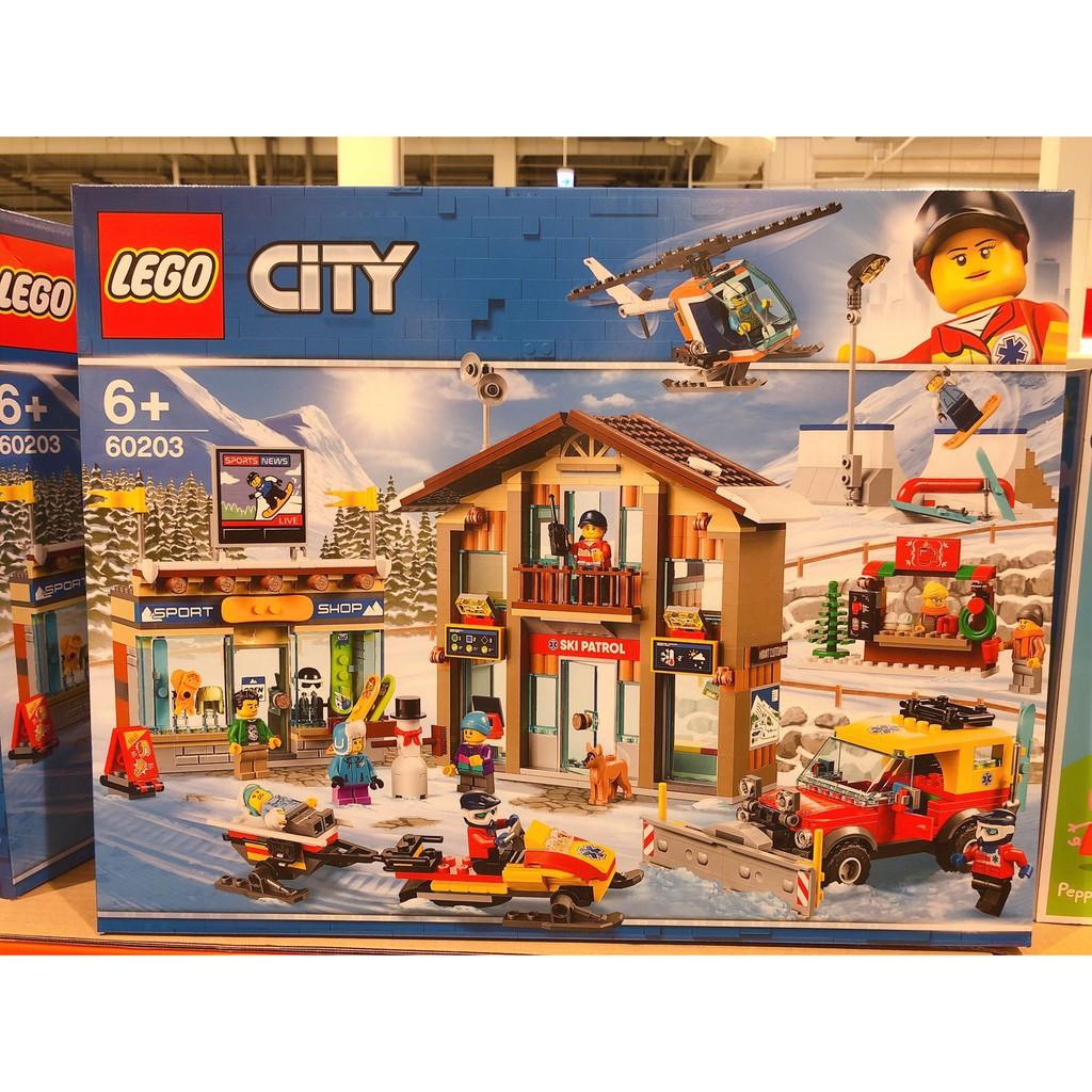 costco 代購 LEGO 60203 滑雪場