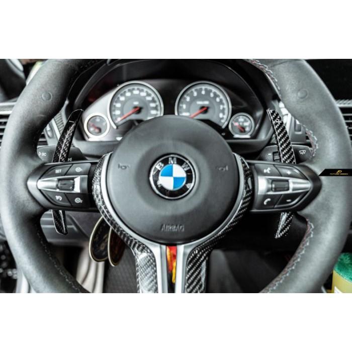 【政銓企業】BMW F80 M3 F82 F83 M4 卡夢 方向盤 換檔撥片 快撥片 現貨供應 免費安裝
