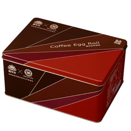 2021新年限定 喜年來 西雅圖咖啡蛋捲禮盒288g (2支x8包入)