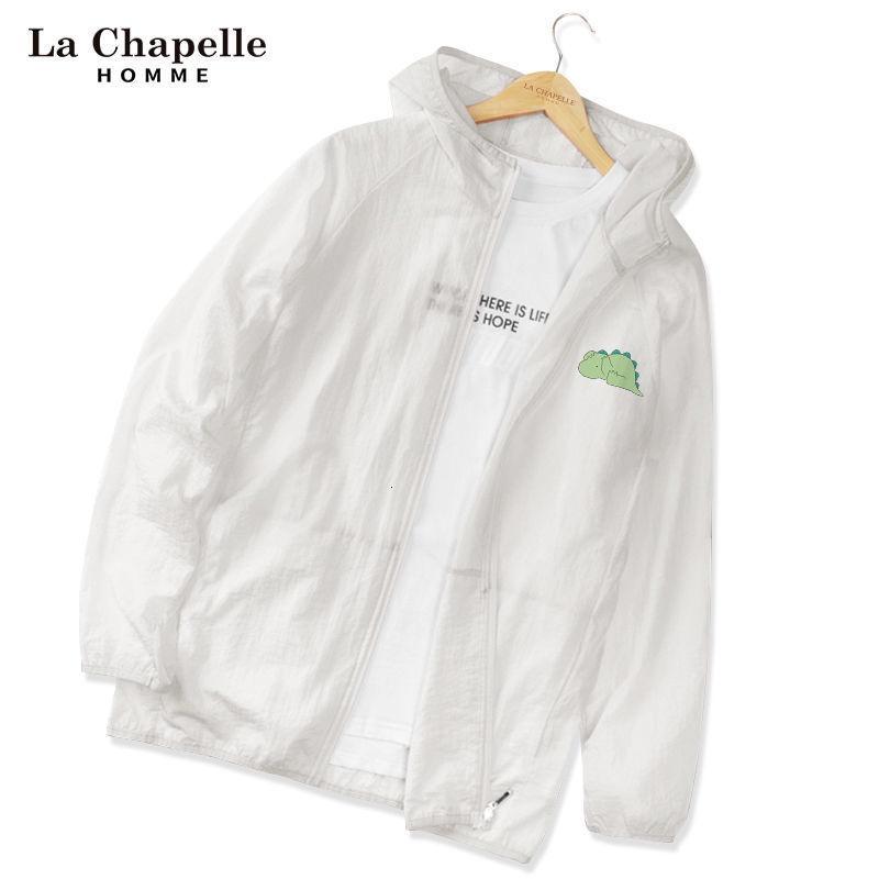 機能防護夾克 機能防護外套 拉夏貝爾homme防曬衣女2021夏季韓版潮流超薄透氣冰絲上衣男外套