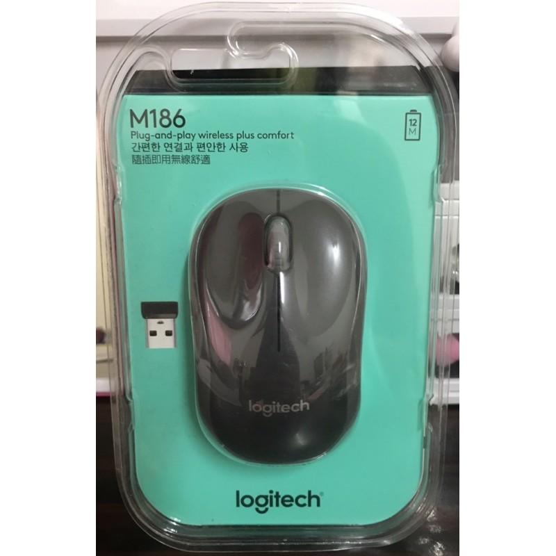 Logitech羅技M186無限滑鼠