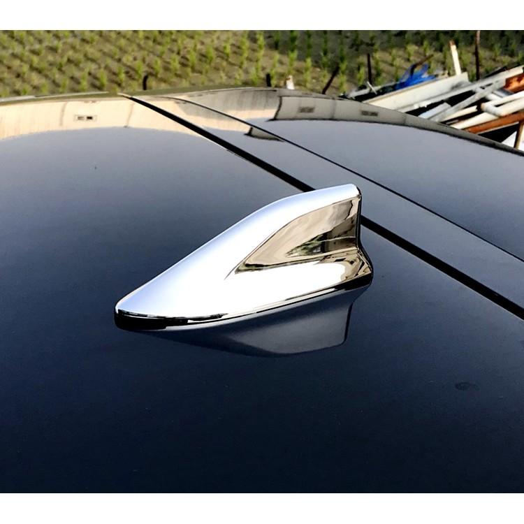 圓夢工廠 Hyundai Super Elantra / Elantra Sport 可裝 日系造型鯊魚鰭天線蓋 鍍鉻銀