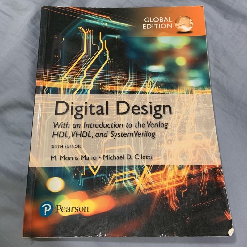 Digital Design 6/e 二手原文書